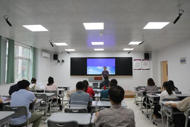 跟着西安南开的老师们学习,是一种幸福的体验